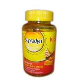 Supradyn Kids Omega-3 multivitamin gumicukor 30x