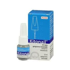 Kitonail® 80 mg/g gyógyszeres körömlakk 3,3 ml