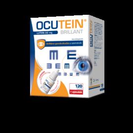 Ocutein Brillant lágyzselatin kapszula 120X + Ocutein Sensitive Care szemcsepp 15ml