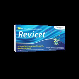 Revicet 10mg préselt szopogató tabletta 28X