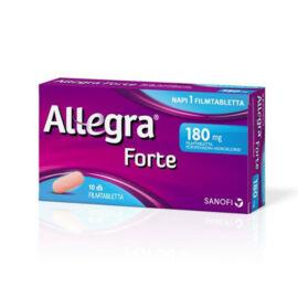 Allegra Forte 180mg filmtabletta 10x