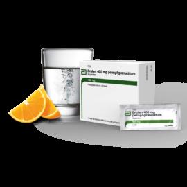 Brufen 400 mg pezsgőgranulátum 20x