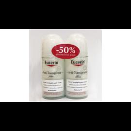 Eucerin - Izzadásgátló golyós dezodor pH5 48 órás 2X50ml duopack