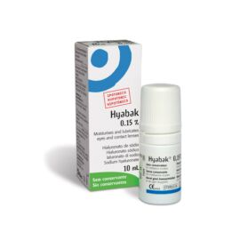 Hyabak 0,15% szemcsepp 10ml
