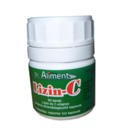 Dr.Aliment Lizin C étrend-kiegészítő kapszula 60x