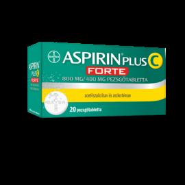 Aspirin Plus C FORTE 800 mg/480 mg pezsgőtabletta 20db