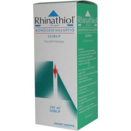 Rhinathiol köhögéscsillapító szirup 1,33mg/ml  felnőtteknek 200ml