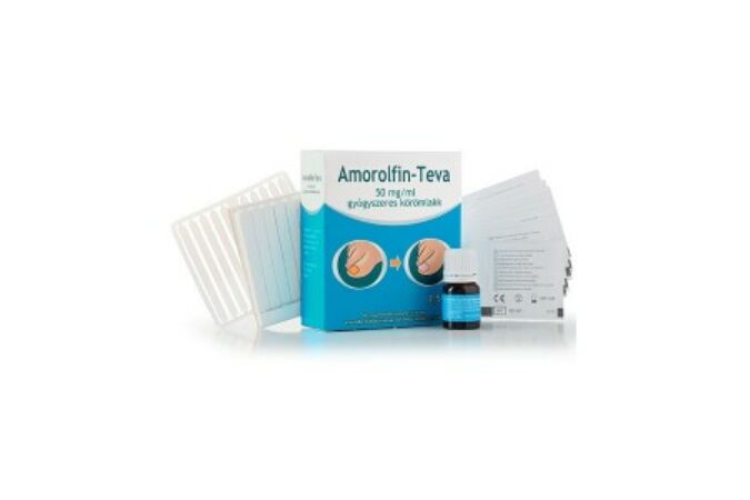Amorolfin-Teva 50 mg/ml gyógyszeres körömlakk