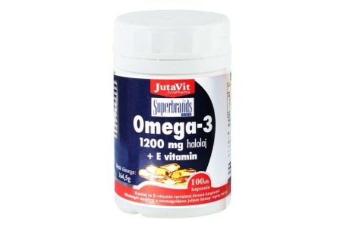 Jutavit Omega-3 1200mg + E vitamin kapszula 100x