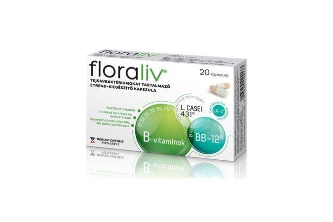 Floraliv étrend-kiegészítő kapszula 20x