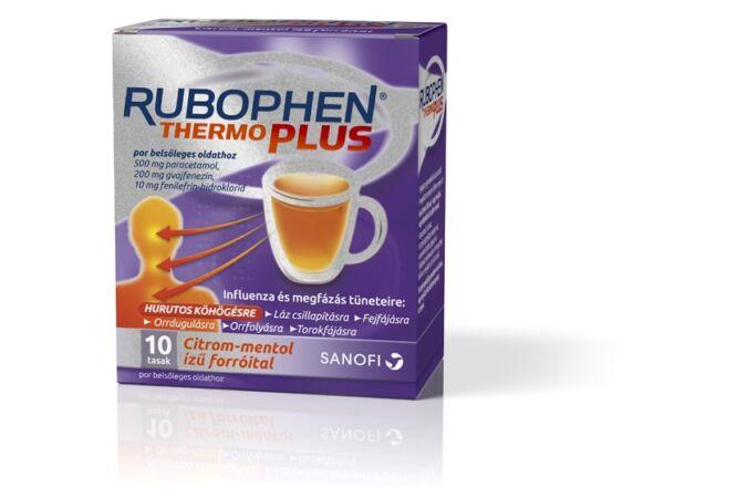 Rubophen Thermo plus por belsőleges oldathoz citrom-mentol 10x