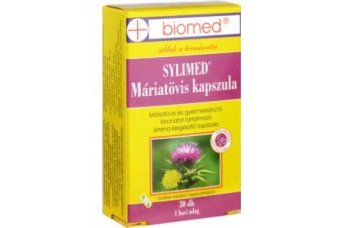 Biomed Sylimed Máriatövis kapszula 30+10x