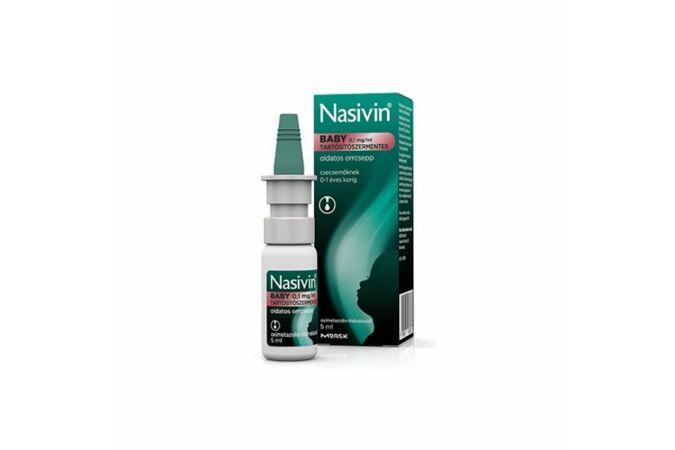 Nasivin Baby 0,1mg/ml oldatos orrcsepp 5ml