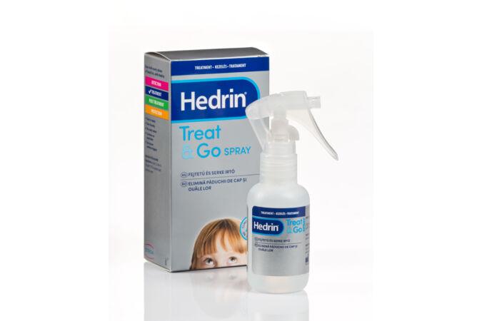 Hedrin Treat & Go fejtetű és serkeírtó spray 60 ml