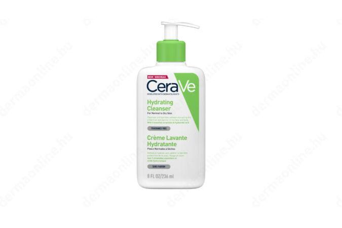 CeraVe Hidratáló tisztító krém normál és száraz bőrre 236 ml