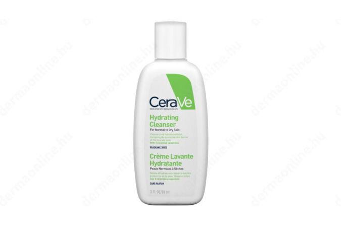 CeraVe Hidratáló tisztító krém normál és száraz bőrre 88 ml