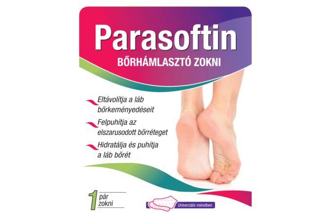 Parasoftin bőrhámlasztó zokni 1pár