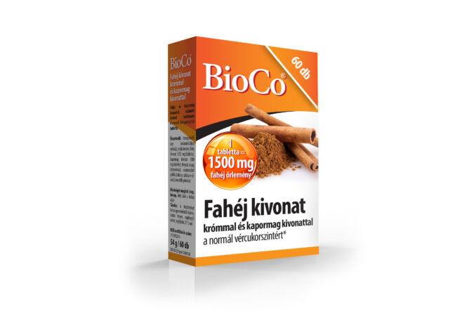 Bioco Fahéj kivonat krómmal és kapormag kivonattal 60X