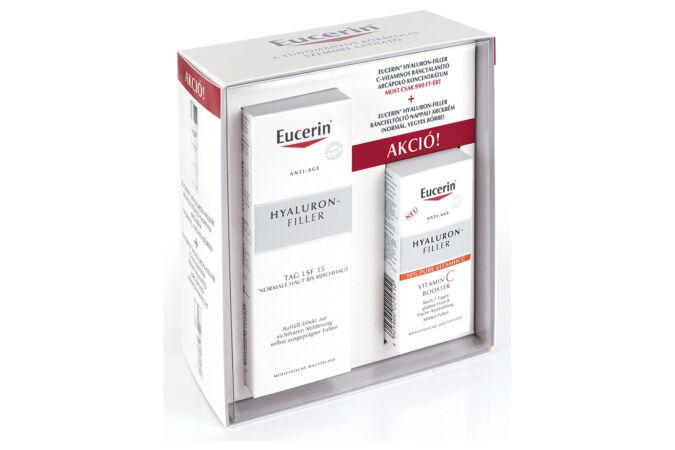 EUCERIN Hyaluron-Filler Ránctalanító és ráncfeltöltő csomag normál bőrre