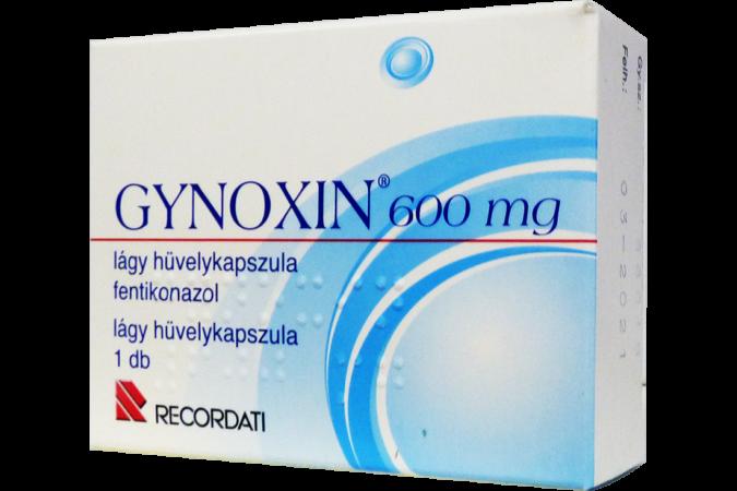 Gynoxin 600mg lágy hüvelykapszula 1x