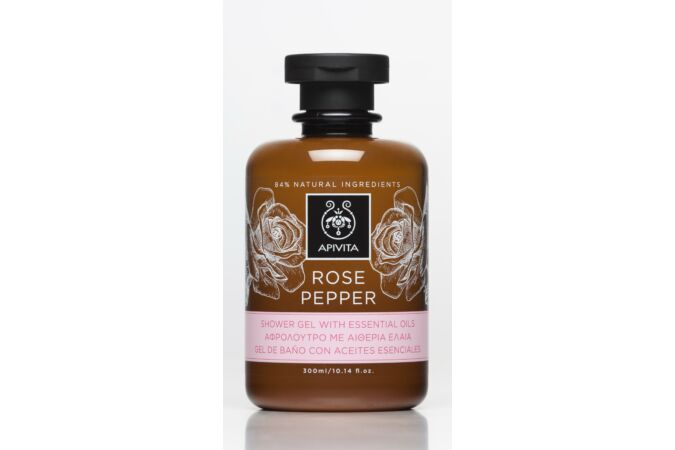 APIVITA Tusfürdő száraz bőrre - Royal Honey 300ml
