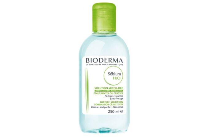 Bioderma Sébium H2O arclemosó zsíros bőrre 250ml