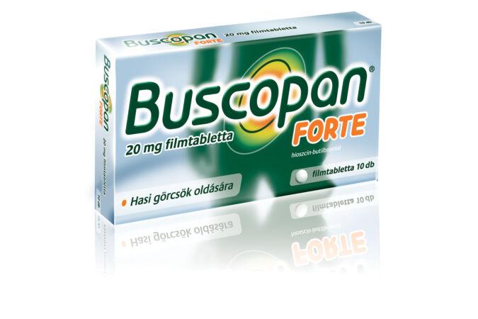 Buscopan Forte 20 mg filmtabletta 10X