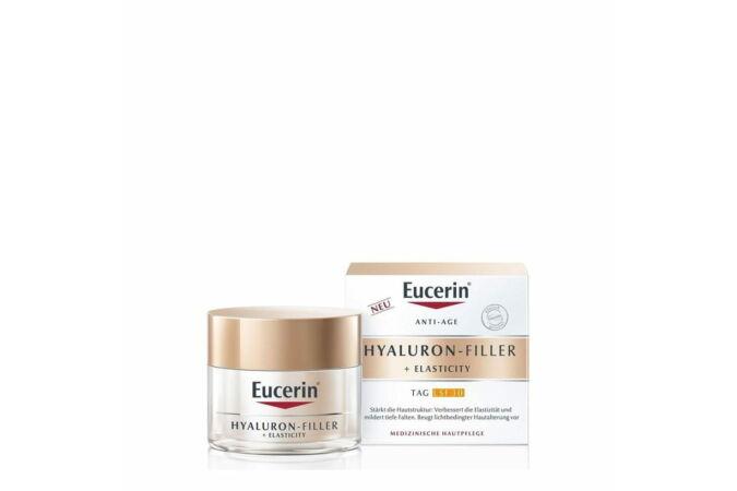 Eucerin Hyaluron-Filler + Elasticity Bőrtömörséget regeneráló nappali arckrém FF30 50ml