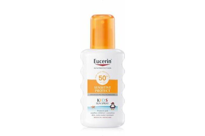 Eucerin Sun Sensitive Protect Gyermek napozó spray FF50+ 200ml