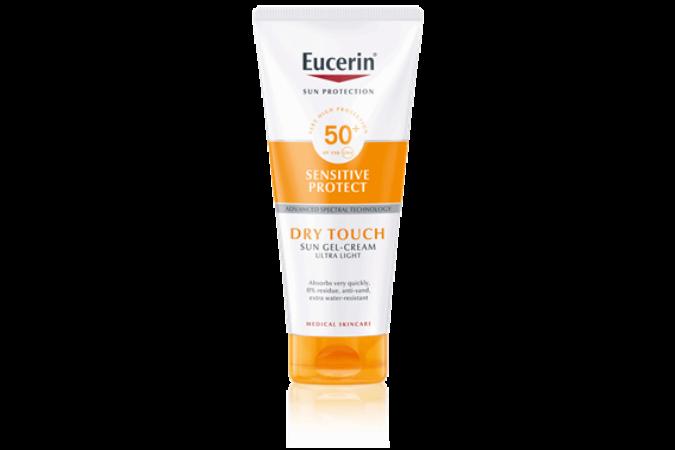 Eucerin Sun Oil Control Dry Touch napozó krém-gél testre SPF50+ 200ml