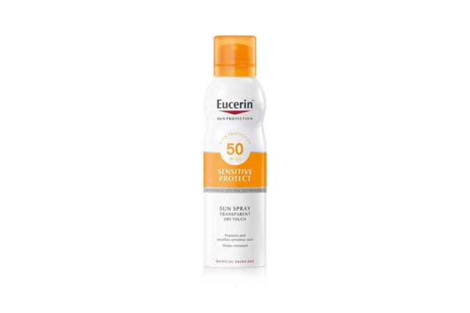 Eucerin -Sun Sensitive Protect színtelen napozó spray spf50 200ml
