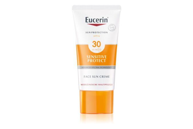 Eucerin Sun Sensitive Protect védőkrém az egész arcra SPF 30 50ml