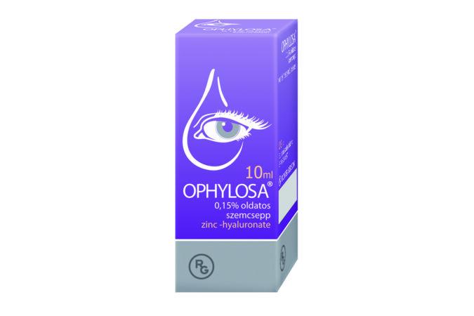 Ophylosa® 0,15% cink-hialuronát tartalmú oldatos szemcsepp Duplacsomag, 2x 10 ml