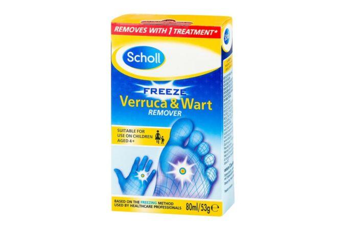 Scholl Szemölcseltávolító fagyasztó spray 80 ml