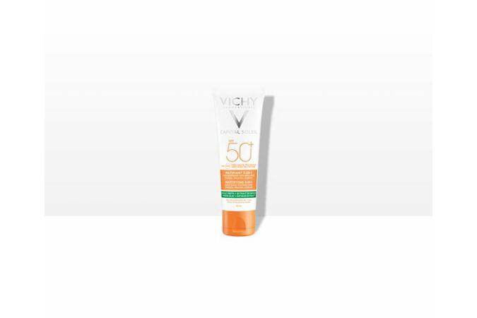 Vichy Capital Soleil Mattító 3-in-1 napvédő krém SPF 50+