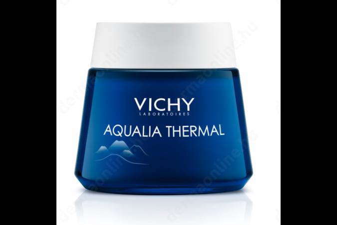 Vichy Aqualia Thermal spa arckrém éjszakai 75 ml