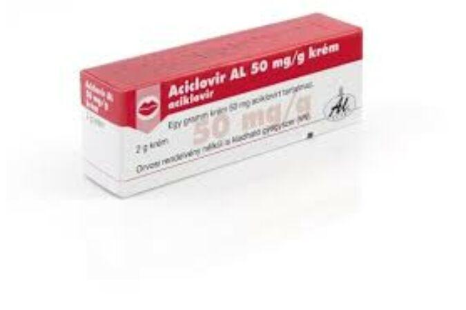 Aciclovir AL 50mg/g krém 2g