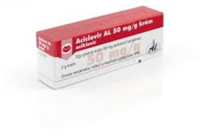 Aciclovir AL 50 mg/g krém 2g