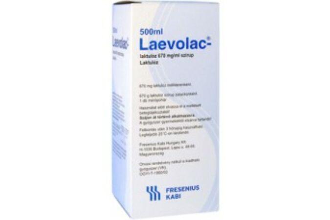 Laevolac-Laktulóz 670mg/ml szirup 500ml