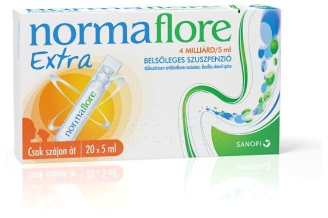 Normaflore extra belsőleges szuszpenzió 10x