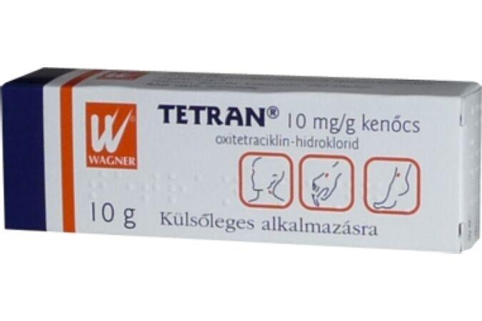 Tetran 10mg/g kenőcs 10g