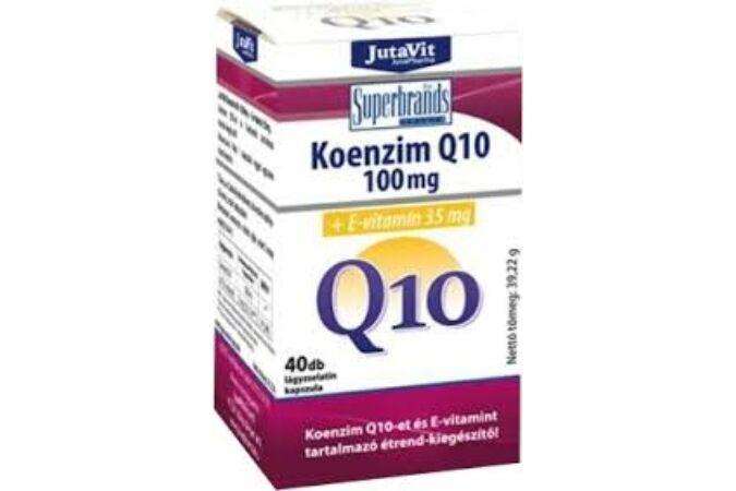 JutaVit Koenzim Q10 100mg +E-vitamin 35mg 40X