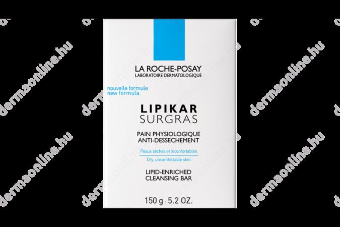 La Roche-Posay Lipikar Surgras szappan bőrszárazság ellen 150 g