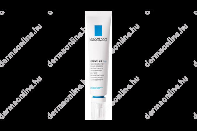 La Roche-Posay Effaclar K+ arcápoló krém zsíros bőrre 40 ml
