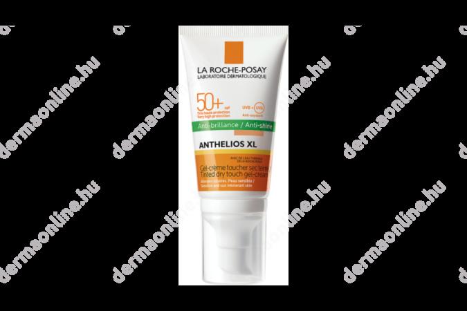 La Roche-Posay Anthelios XL mattító hatású gél-krém arcra színezett SPF 50+ 50 ml