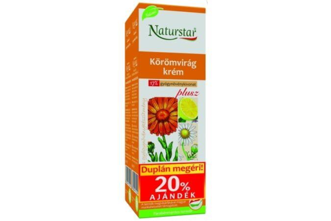 Naturstar Körömvirág krém plusz dupla 2X60ml
