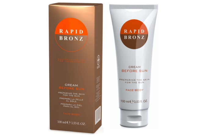 Vital Plus Active Rapid Bronz Before sun krém arcra és testre 100ml