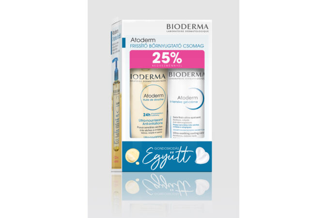 Bioderma Frissítő Bőrnyugtató csomag 200ml + 200ml