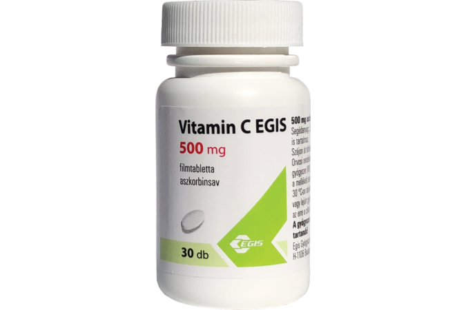 Vitamin C EGIS 500 mg filmtabletta 30x