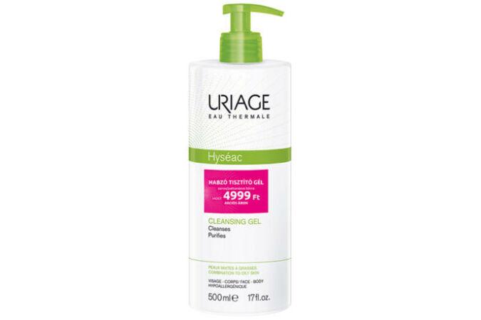 Uriage Hyséac habzó tisztító gél 500ml